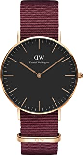 Daniel Wellington Classic Roselyn Watch, Red NATO Band