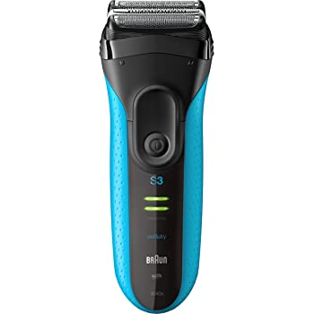 Braun Electric Razor for Men, Series 3 3040s Electric Shaver with Precision Trimmer, Rechargeable, Wet & Dry Foil Shaver