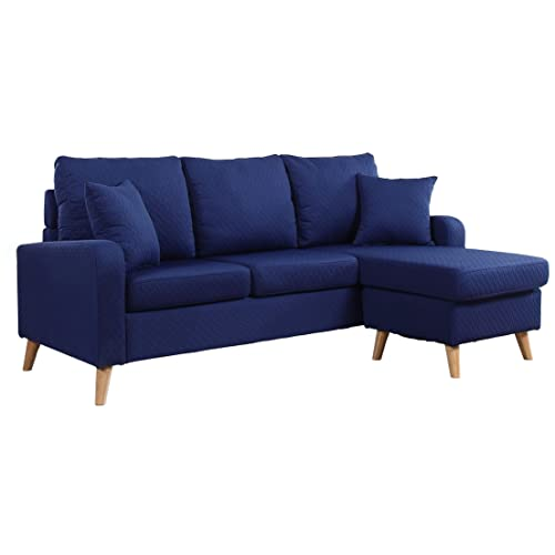 Groovy Blue Sectional Sofa Amazon Com Onthecornerstone Fun Painted Chair Ideas Images Onthecornerstoneorg