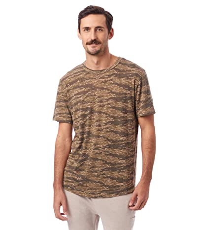 Alternative Eco Shirttail Tee (Fatigue Tiger Camo) Men