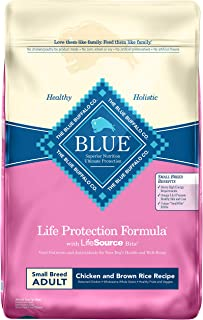 Blue Buffalo Life Protection Formula Small Breed Dog Food – Natural Dry Dog Food for..