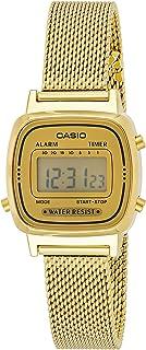 Relógio Casio Vintage Digital La670Wemy-9Df Dourado