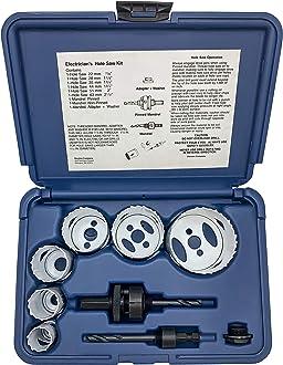 16mm Disston E0102325 5//8-Inch Blu-Mol Sheet Metal Hole Saws Boxed