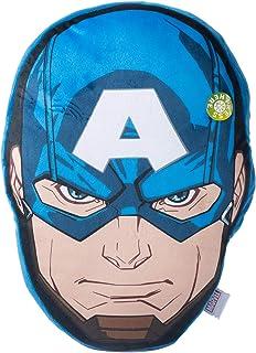 Marvel - Captain America Head Shaped Light Up Cushion - 38 X 35 cms