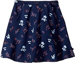Tommy Hilfiger Kids - Printed Skater Skirt (Big Kids)