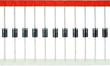 BOJACK Rectifier Diode IN5406(3A 600V) DO-201AD Axial 5406(3 Amp 600 Volt) Electronic Silicon Diodes(Pack of 50 Pieces)