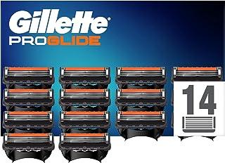 Gillette Fusion5 ProGlide Scheermesjes, 14 Stuks, Verpakking Geschikt voor Brievenbus, Verpakking kan Variëren