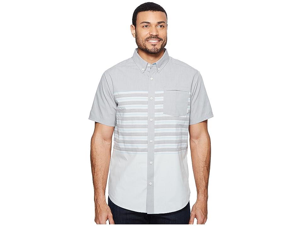 Mountain Hardwear Axton AC Short Sleeve Shirt (Manta Grey) Men