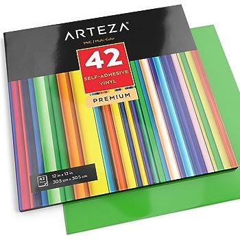 RCruning-EU Hojas de Vinilo Autoadhesivo Heat Transfer Vinyl- 26 Pack of 12 x 10