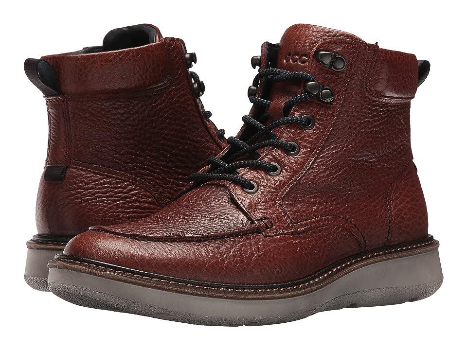 ECCO Aurora Boot (Cognac) Men