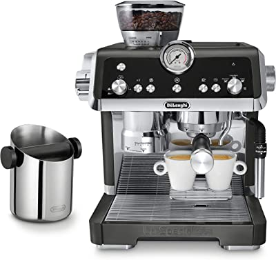 De'Longhi La Specialista Espresso Machine with Knock Box