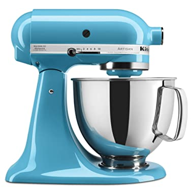 KitchenAid Artisan Series 5-Qt. Stand Mixer with Pouring Shield - Crystal Blue