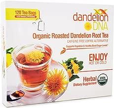 Organic Roasted Dandelion Root Tea (120 bags)