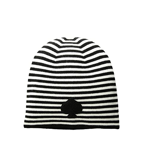 305adc1e1c5ef Kate Spade New York Striped Spade Beanie at Luxury.Zappos.com