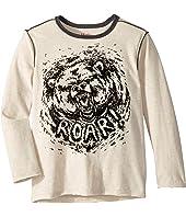 Grizzly Roar Long Sleeve Tee (Toddler/Little Kids/Big Kids)