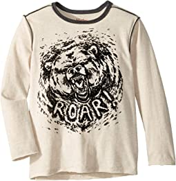 Grizzly Roar Long Sleeve Tee (Toddler/Little Kids/Big Kids)
