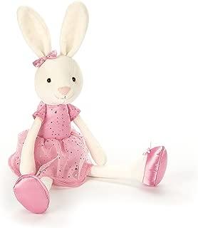 Jellycat Bitsy Party Bunny Stuffed Animal, Medium, 14 inches
