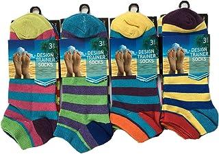 Mens Trainer Liner Ankle Socks Cotton Rich Low Cut Sports Socks Size 6 - 11 QZ FASHION®