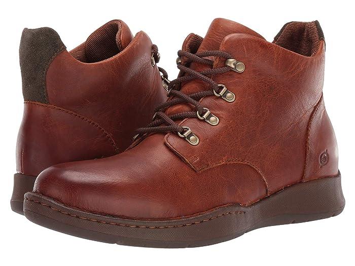 Born  Evros (Tan/Green Combo) Mens  Boots