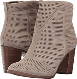 18cd000aaee Desert Taupe Suede Perforated. 32. TOMS. Lunata Bootie.  64.50MSRP    129.00. Black Suede Perforated. 52