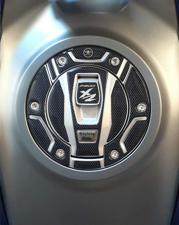3d Schutz Für Schlüssellosen Tankdeckel Aus Gel Für Motorräder Die Mit Dem Bmw F900xr Kompatibel Sind Auto