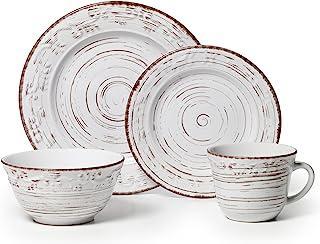 طقم ادوات المائدة البيضاء من بالتزغراف