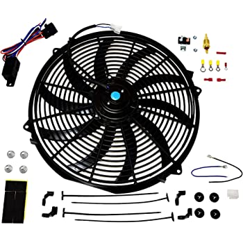 Maradyne MP166K-6 Pacesetter Series 16 6 Volt Universal Fan 160W Reversible Straight Blade