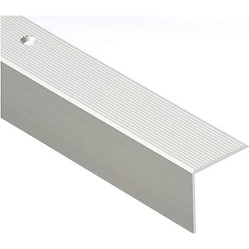 gebohrt inkl. Montageset ungebohrt , schwarz 30 x 52 x 1000 mm Montageset Top Treppenkantenprofil | selbstklebend in 6 Eloxalfarben gebohrt inkl Treppenwinkel 30 x 52 mm 15,96/€//m