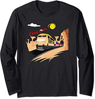 Hop On The Trump train Express 2020 Long Sleeve T-Shirt