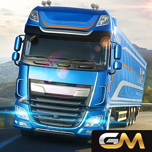 Euro Truck Driver Simulator : City Transporter Truck Driving Game