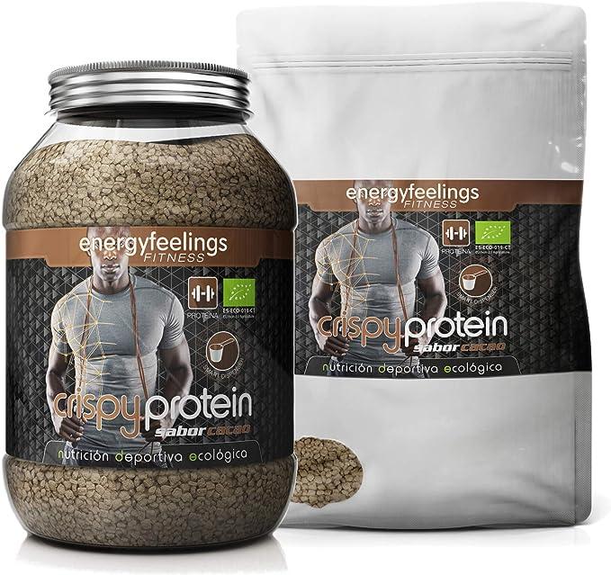 Energy Feelings Crispy Protein Cacao ecológico - 400g ...