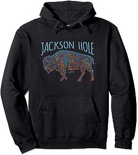 JCombs: Jackson Hole, Wyoming, American Bison Hoodie