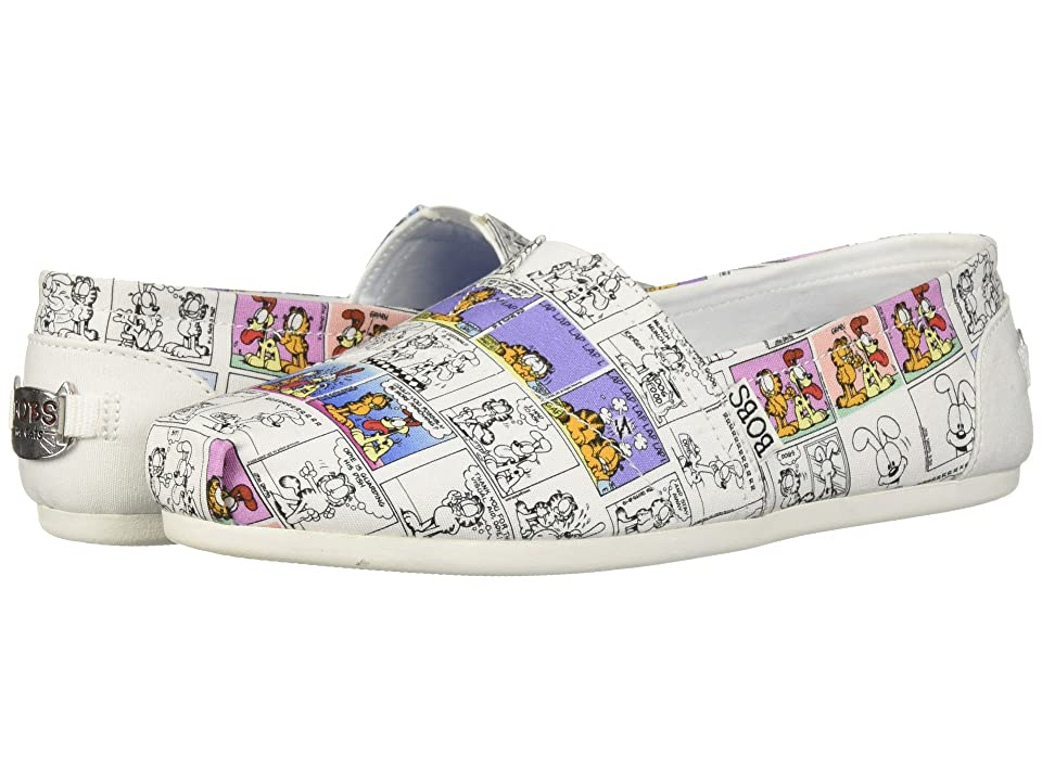 BOBS from SKECHERS BOBS Plush Cartoon (White Multi) Women