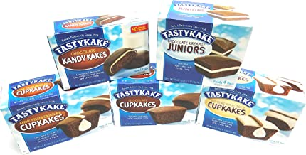 product image for Tastykake Ultimate Chocolate Lovers Assortment | 5 Boxes Snack Cakes | Chocolate Cupcakes, Creme Filled Cupkakes, Buttercreme Iced Cake, Chocolate Kandy Kakes & Kreamie Juniors …