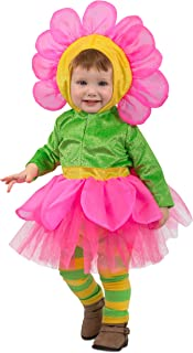 pink flower costume