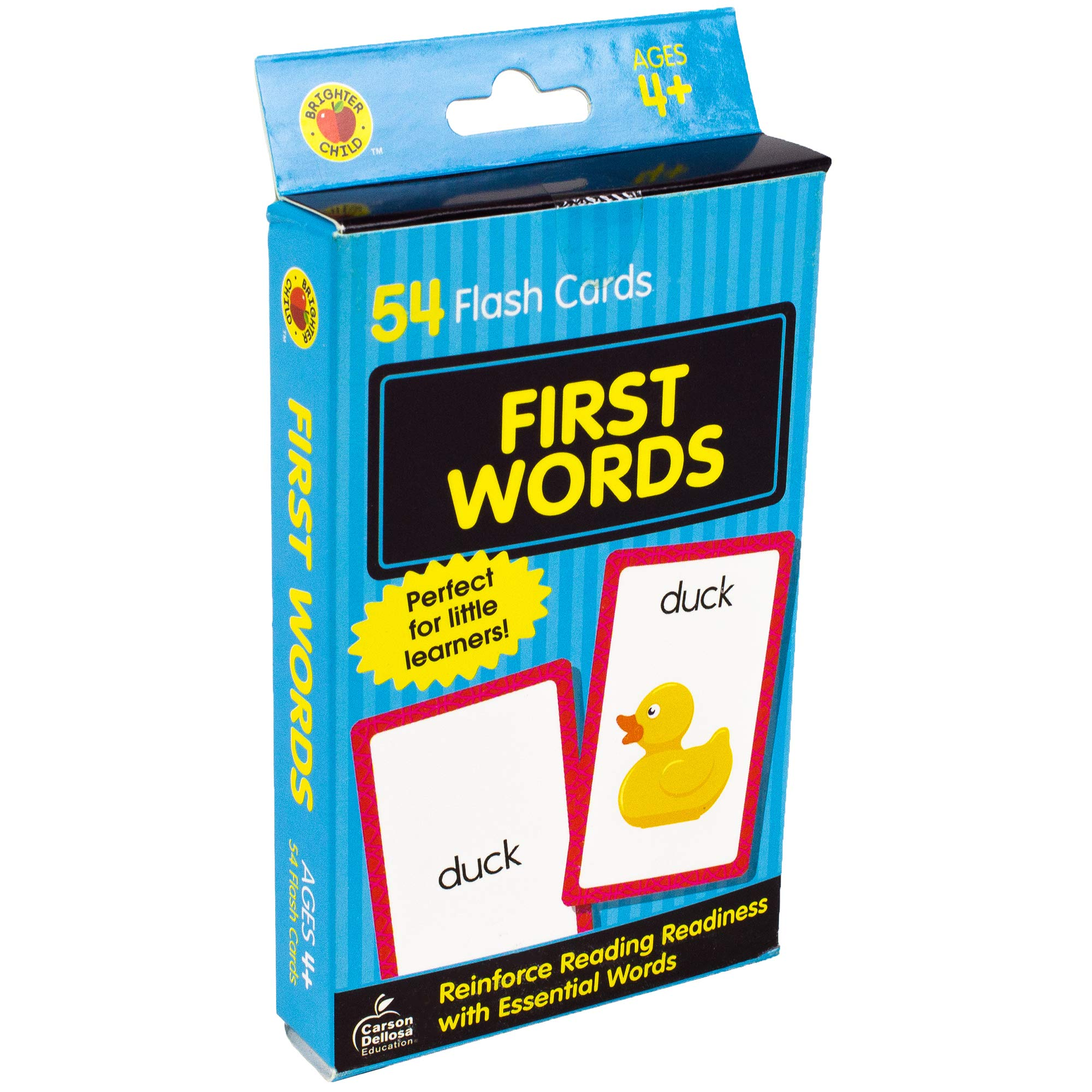 First Words Flash Cards Brighter