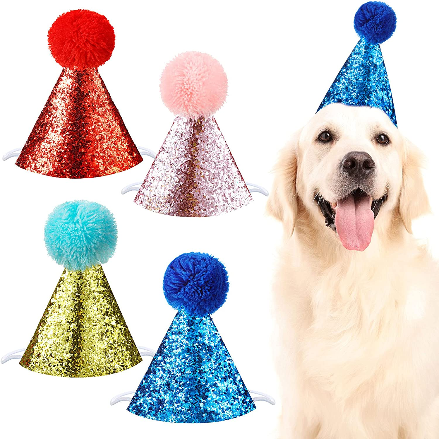 Dog Mail order cheap Birthday Hat for Pets Accessories Headb Pet Decoration Party Luxury goods