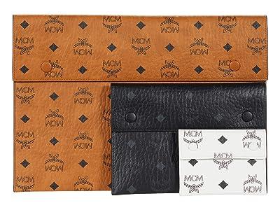 MCM Visetos Mix Pouch (Cognac) Handbags