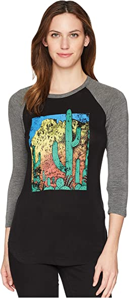 Rock and Roll Cowgirl 3/4 Sleeve Tee 48T5569
