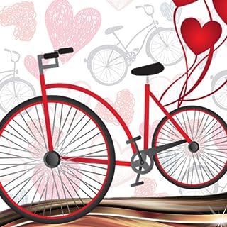 Collage de fotos de bicicleta