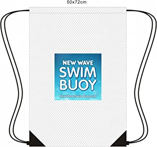 New Wave Mesh Drawstring Backpack for Triathlon Gear,  Swimming Equipment and Beach Toys