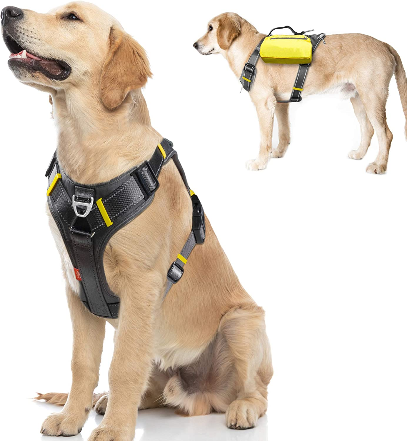 Fida Dog Harness Multi-Functional supreme No-Pull Pet Vest with Be super welcome