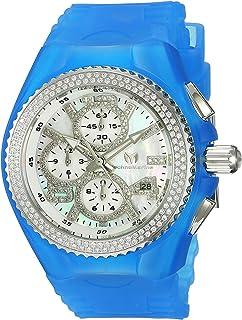 [テクノマリーン]TechnoMarine 腕時計 Quartz Stainless Steel and Silicone Casual Watch, TM-115244 レディース [並行輸入品]