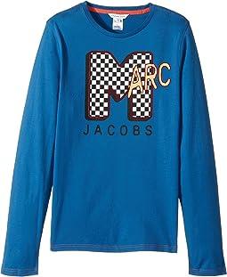 Little Marc Jacobs - MTV Style Long Sleeve T-Shirt (Big Kids)
