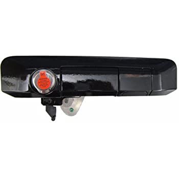 Pop & Lock PL5410 Gloss Black: J202 Paint Code Manual Tailgate Lock with BOLT Codeable for Toyota Tacoma