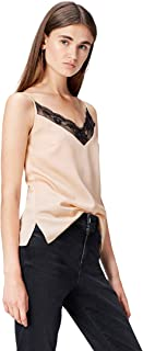 Find womens Lace Trim Cami T-Shirts