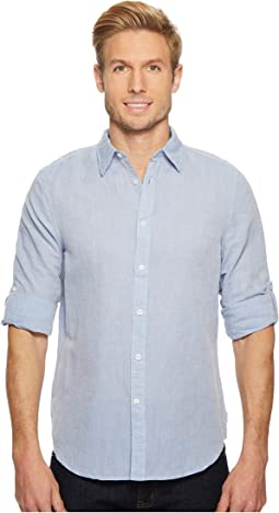 7bac423923954c Perry ellis long sleeve mini arrow button down shirt | Shipped Free ...