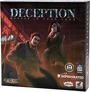 Deception: Murder in Hong Kong | 4-12 Players | Official Version | English and Arabic Language | Group Game For Ages 14+ |...