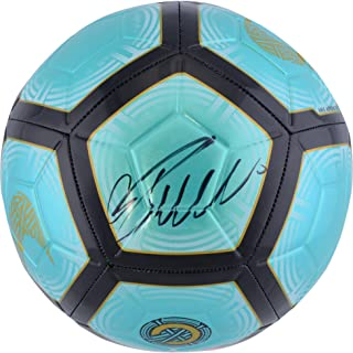 Cristiano Ronaldo Juventus F.C. Autographed Teal Nike Mercurial Soccer Ball - Fanatics Authentic Certified