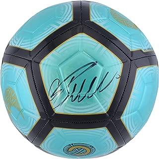 Cristiano Ronaldo Juventus F.C. Autographed Teal Nike Mercurial Soccer Ball - Fanatics Authentic Certified